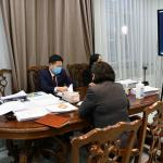Засаг дарга Д.Сумъяабазар ЕСБХБ-ны суурин төлөөлөгчтэй уулзлаа