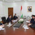 Монгол Улсын Шадар сайд С.Амарсайхан Тажикистан Улсын Ерөнхий сайд Кохир Расулзода-тай уулзлаа